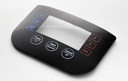 UIパネルへの電極・センサーインサート